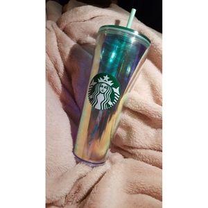 Iridescent Mermaid Starbucks Tumbler (24 OZ)